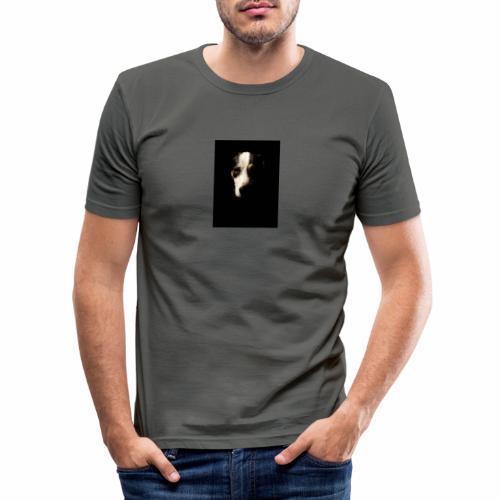 La mirada de la verdad (perro) - Camiseta ajustada hombre