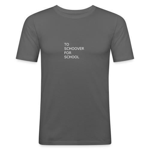 To Schoover For School - Slim Fit T-skjorte for menn