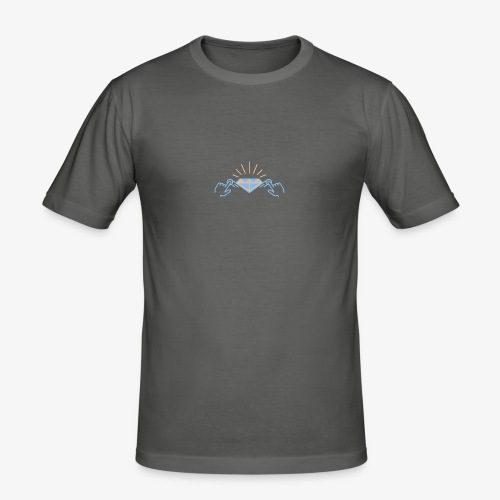 diamond color by A3'rt - T-shirt près du corps Homme