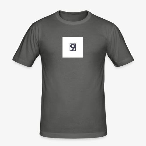 9 Clothing T SHIRT Logo - Men's Slim Fit T-Shirt