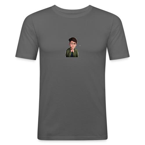 Turtle Vibez Logo - Men's Slim Fit T-Shirt