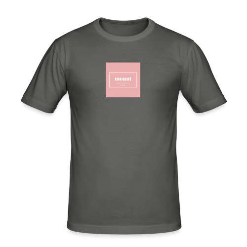 M O U N T apparel AMS - Mannen slim fit T-shirt