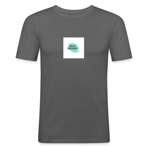 beste vriendeSpace - Mannen slim fit T-shirt