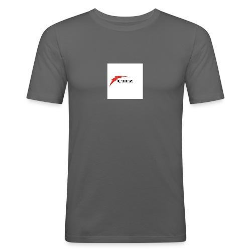 CHZ LAZER - Maglietta aderente da uomo