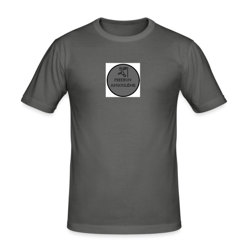 FREERUN ANGOULE LOGO - T-shirt près du corps Homme