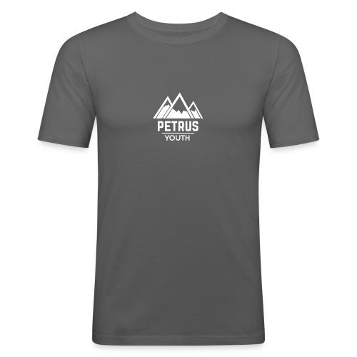 Petrus Logo 2K17 - Miesten tyköistuva t-paita