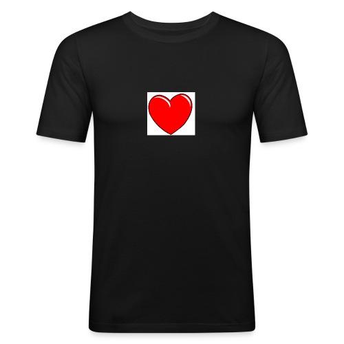 Love shirts - Mannen slim fit T-shirt