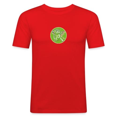 MiMo DragoShirtCMYK - Männer Slim Fit T-Shirt