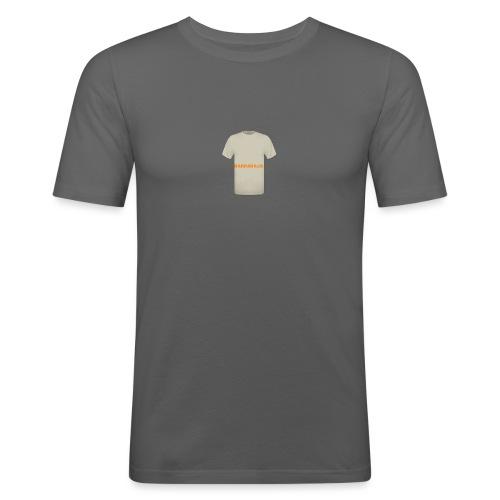 CAMISETA NATURAL-BARRABAJA - Camiseta ajustada hombre