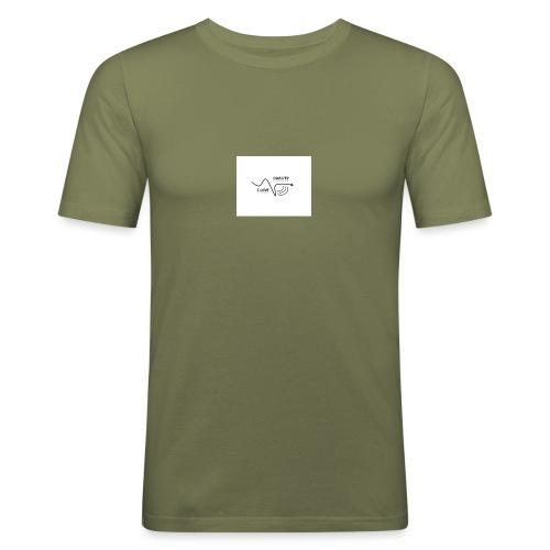I_LOVE_DUBSTEP - Camiseta ajustada hombre