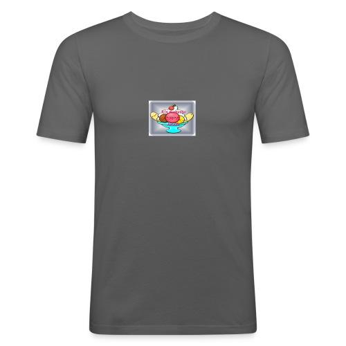 baby ice cream - Camiseta ajustada hombre