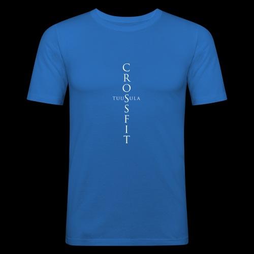 CrossFit Tuusula risti - Miesten tyköistuva t-paita