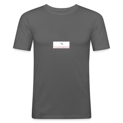 Beautiful Slaughterhouse logo - T-shirt près du corps Homme
