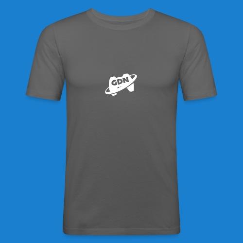 Game Dev Network: White - Men's Slim Fit T-Shirt