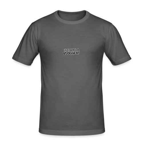 #CouplaVloggers - Men's Slim Fit T-Shirt