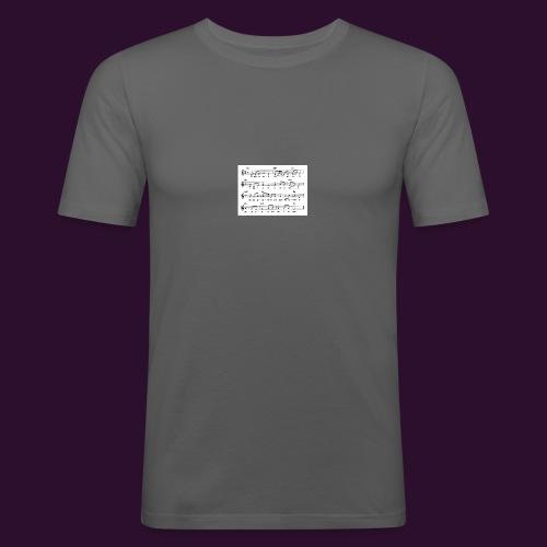 era_una_notte_che_piov-gif - Maglietta aderente da uomo
