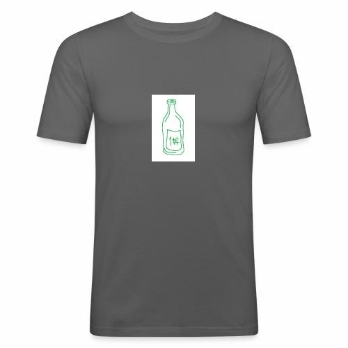 Alkoholi - Miesten tyköistuva t-paita