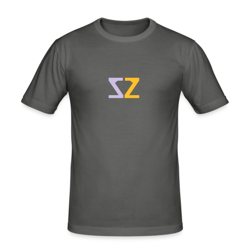 Logo ZZ - Maglietta aderente da uomo