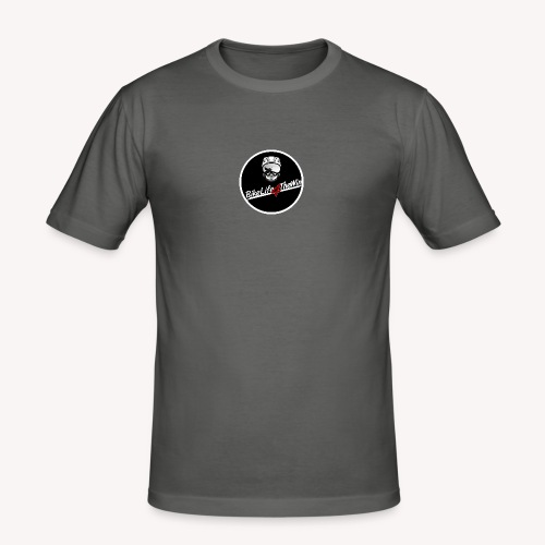 motorcycle Logo 2 - Men's Slim Fit T-Shirt