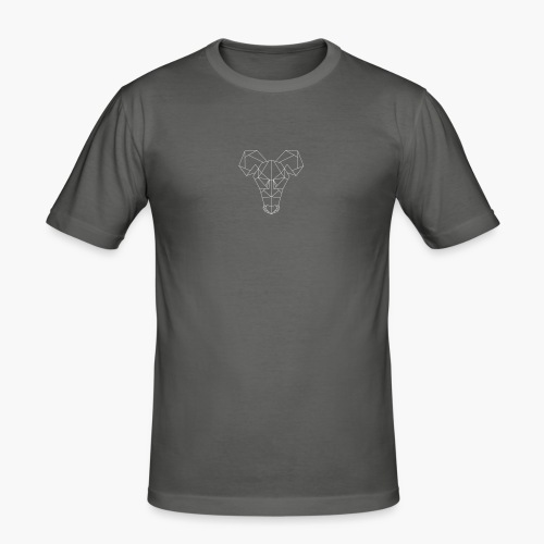 Rat's Head - Mannen slim fit T-shirt