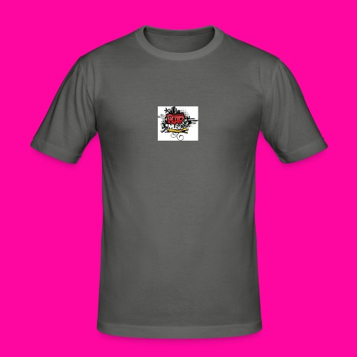 Rap-Music - Obcisła koszulka męska