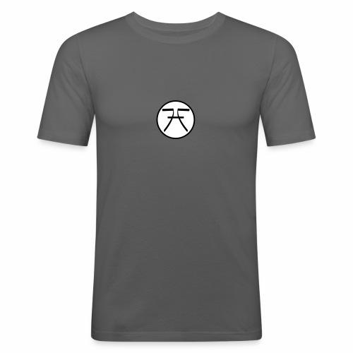 FHF Logo - Men's Slim Fit T-Shirt
