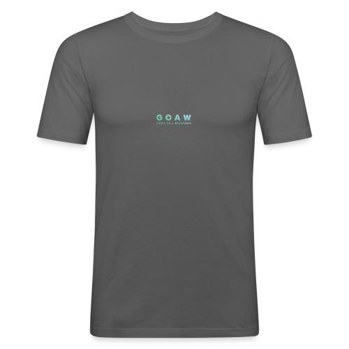 GOAW logo - Men's Slim Fit T-Shirt