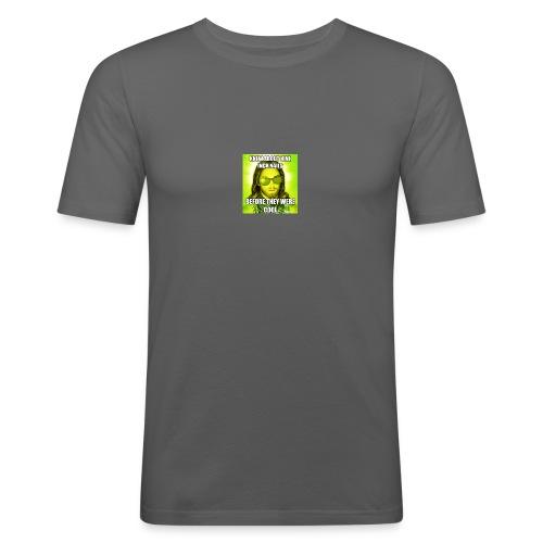 jesusmemesinterneteaste - Mannen slim fit T-shirt