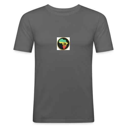 Rasta Lion - Slim Fit T-shirt herr