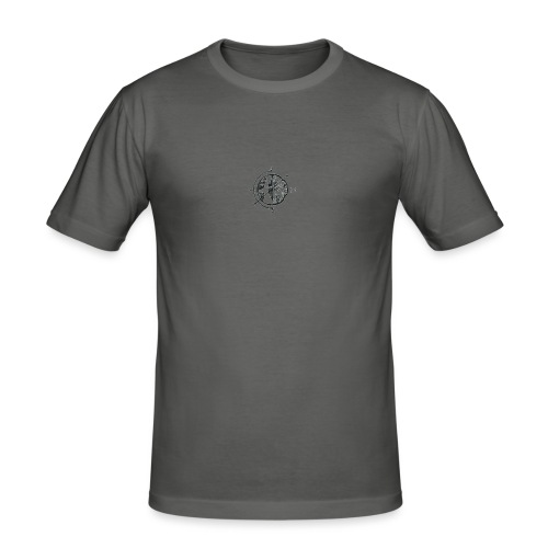 KOMPAS OFFICIAL - Mannen slim fit T-shirt