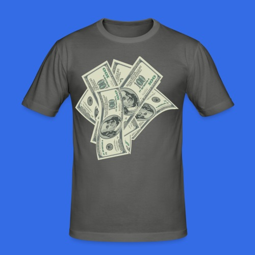 more money - Men's Slim Fit T-Shirt