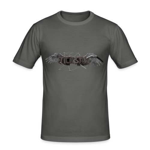 Jicksaw Flügel - Merch - Männer Slim Fit T-Shirt