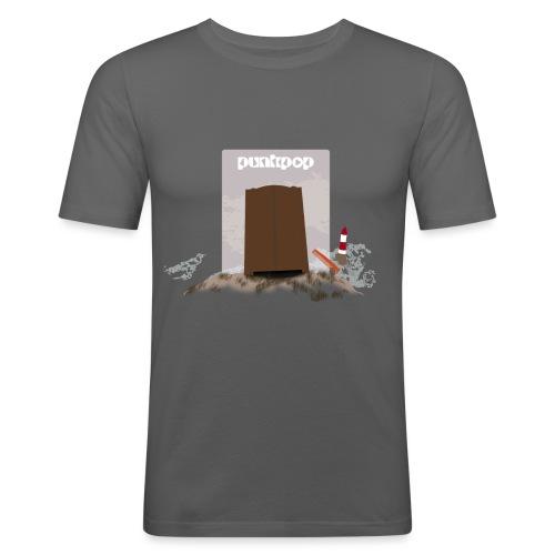 Dark Close PunkPop - Maglietta aderente da uomo