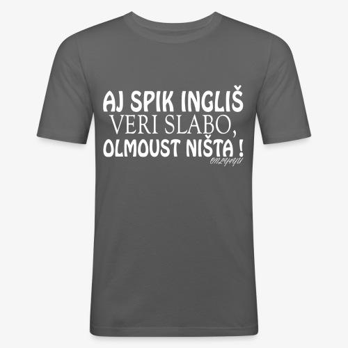 verislaboinglisch wit png - slim fit T-shirt