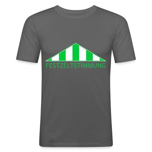 Festzeltstimmung png - Männer Slim Fit T-Shirt