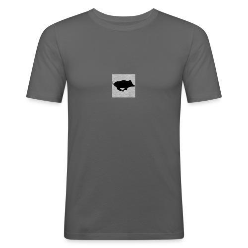 Sanglier - T-shirt près du corps Homme