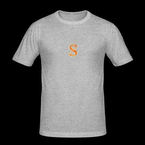 S FOR Sonnit Fire Charge - Men's Slim Fit T-Shirt