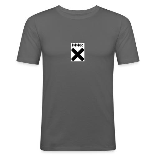 DDRR Cross Logo - Camiseta ajustada hombre