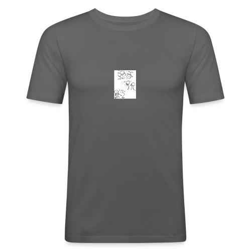 omini_che_suonano - Maglietta aderente da uomo