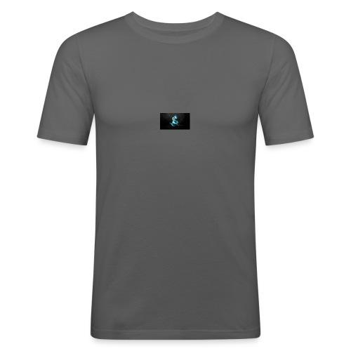 lochness monster - Männer Slim Fit T-Shirt
