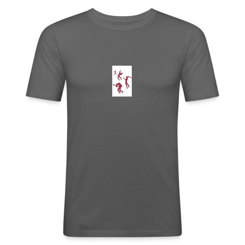Caos-jpg - Maglietta aderente da uomo