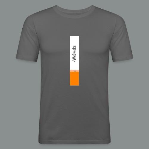 #WeSmoke - Maglietta aderente da uomo