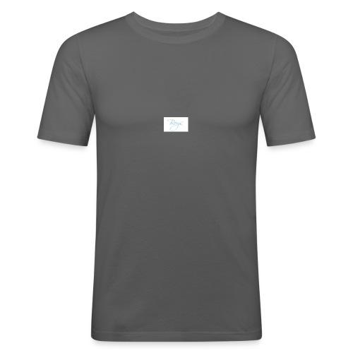 yunus training - Mannen slim fit T-shirt
