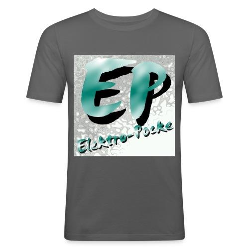 Elektro-Pocke T-Shirt Premium - Männer Slim Fit T-Shirt