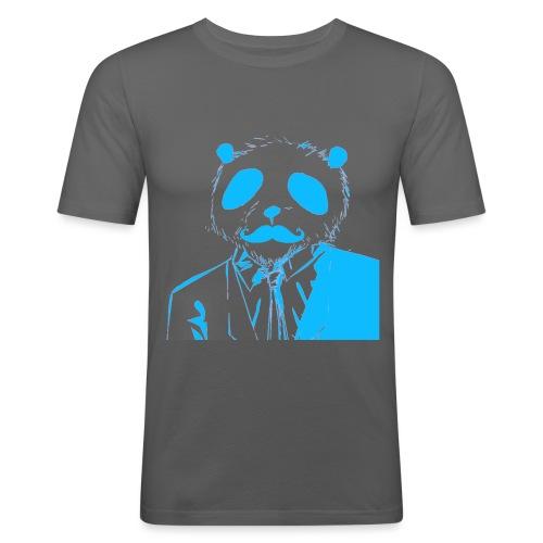 BluePanda Logo - Men's Slim Fit T-Shirt