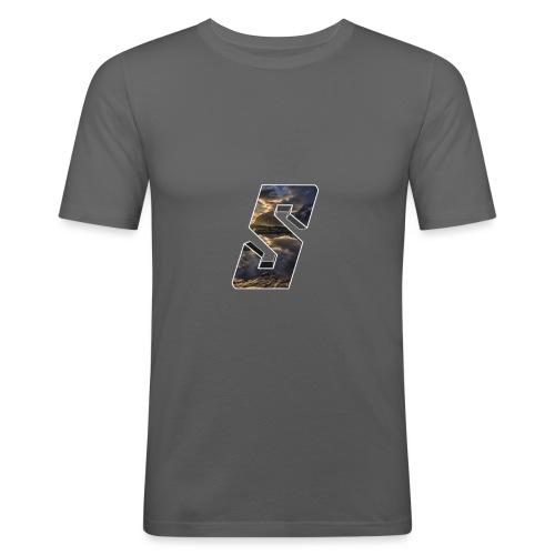 Sivert&Co Logo - Slim Fit T-skjorte for menn