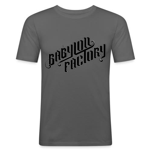 BABYLONFACTORY - Männer Slim Fit T-Shirt