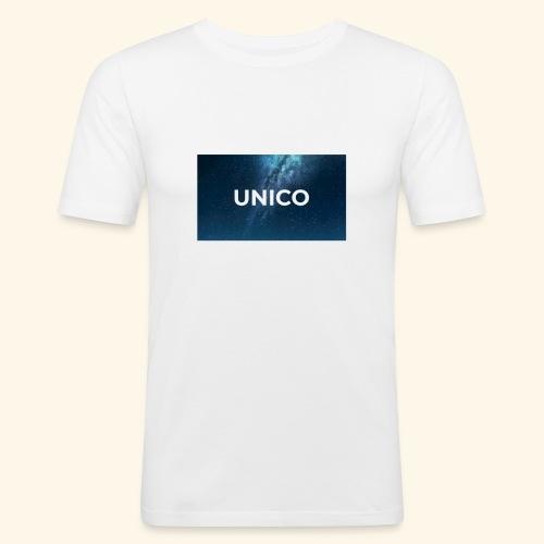 copertina canzone-unico - Maglietta aderente da uomo