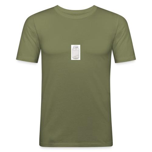 PLEASE FILL UP MY EMPTY JAR - Men's Slim Fit T-Shirt