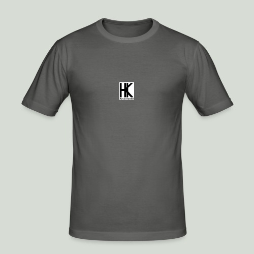HK Logo - Mannen slim fit T-shirt